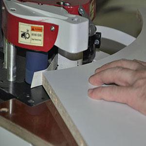 Кромление криволинейных деталей