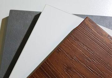Кухонные фасады из TSS плиты CLEAF