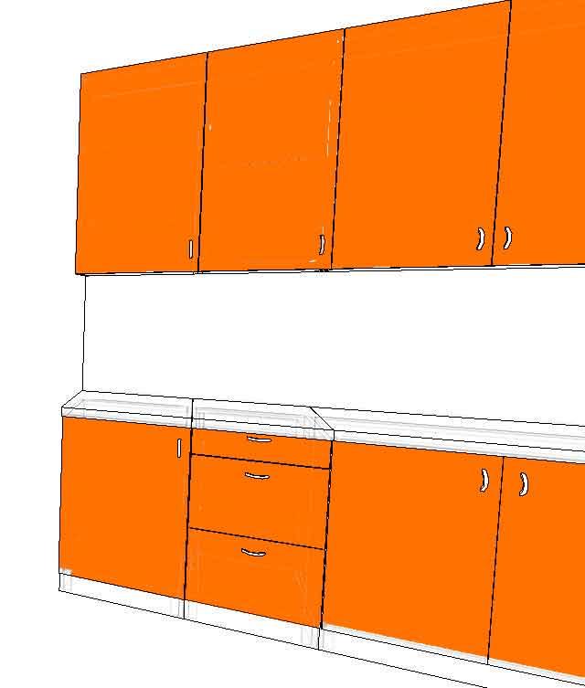 Кухонные корпуса на заказ