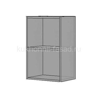Кухонный корпус высотой 720 шириной 500 мм. серого цвета