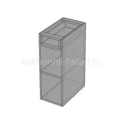 Стол с одним выдвижным ящиком и одной дверью